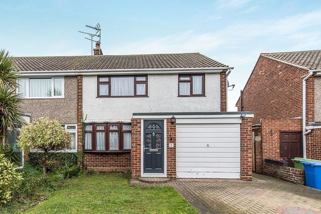 Thumbnail Semi-detached house to rent in Hobart Gardens, Sittingbourne