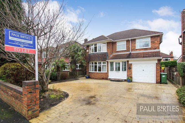 Thumbnail Detached house to rent in Shaftesbury Avenue, Timperley, Altrincham