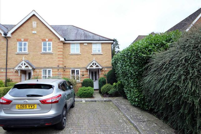Semi-detached house for sale in Montague Hall Place, Bushey WD23.