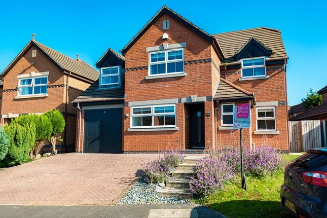 Thumbnail Detached house for sale in Hill Rise View, Aughton, Ormskirk