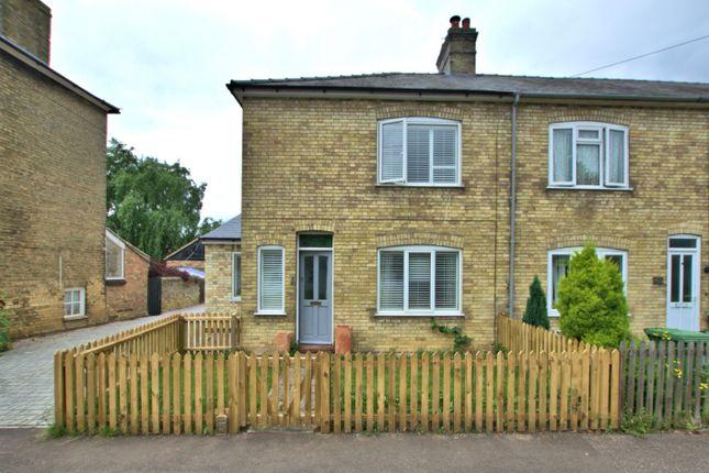 Thumbnail End terrace house to rent in High Street, Landbeach, Cambridge