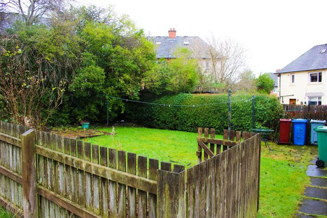 Back Garden of Kenmar Road, Hamilton ML3