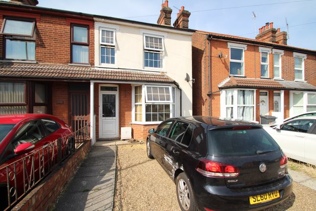 Thumbnail Semi-detached house for sale in Woodbridge Road, Ipswich