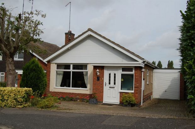 Thumbnail Detached bungalow for sale in St Peters Way, Weedon, Northampton