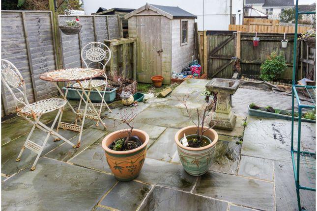 Garden of Fern Close, Okehampton EX20