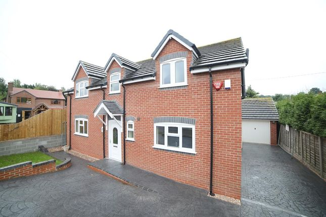 Thumbnail Detached house for sale in Moss Road, Wrockwardine Wood, Telford