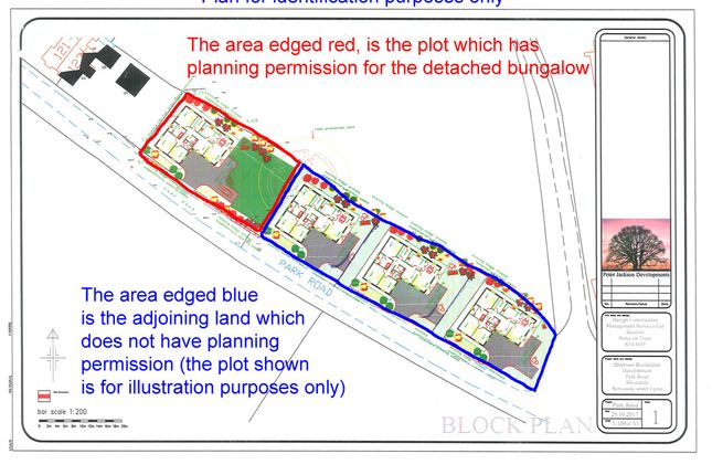 Thumbnail Land for sale in Building Plot & Adjoining Land, Park Road, Silverdale