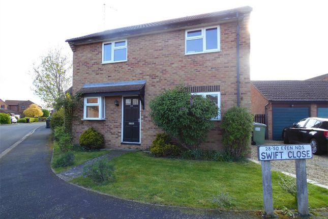 Thumbnail Detached house to rent in Swift Close, Deeping St James, Peterborough, Lincolnshire