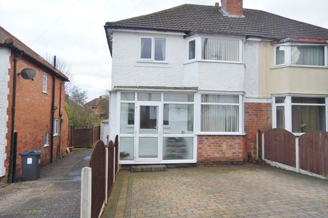 Thumbnail Semi-detached house for sale in Cliff Rock Road, Rednal, Birmingham