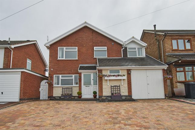 Thumbnail Detached house for sale in Atkins Way, Burbage, Hinckley