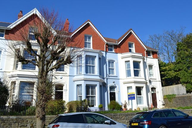 Thumbnail Terraced house for sale in Eaton Crescent, Uplands, Swansea.