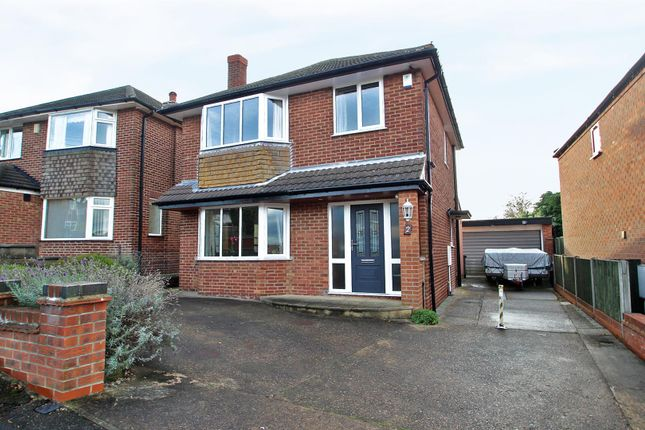 Thumbnail Detached house for sale in Welham Crescent, Arnold, Nottingham