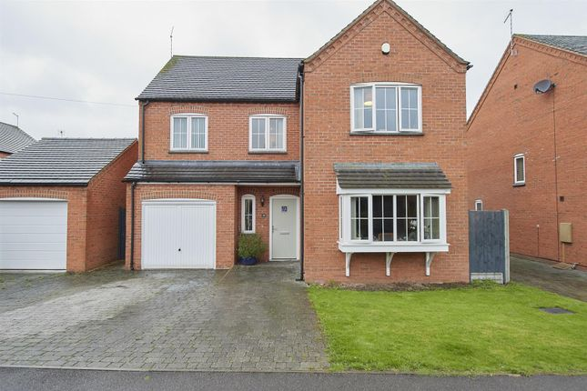 Thumbnail Detached house for sale in Cotes Road, Burbage, Hinckley