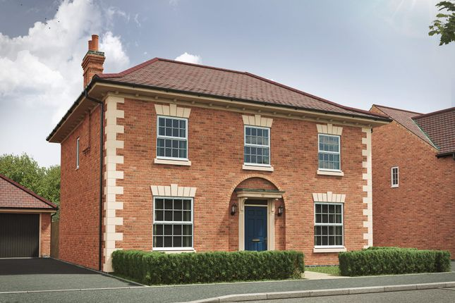 "Thumbnail Detached house for sale in ""The Castleton 4th Edition"" at Harvest Road, Market Harborough"
