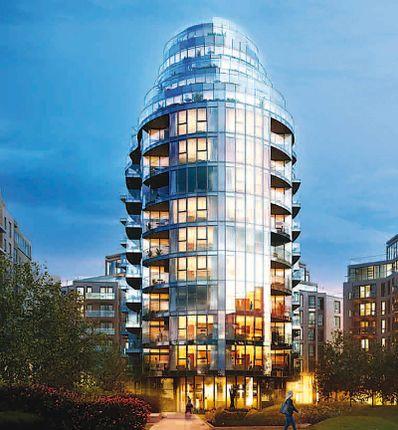 Thumbnail Flat for sale in Pinnacle House, Battersea Reach, Battersea