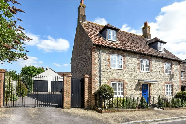 Thumbnail Link-detached house for sale in Tinten Lane, Poundbury, Dorchester