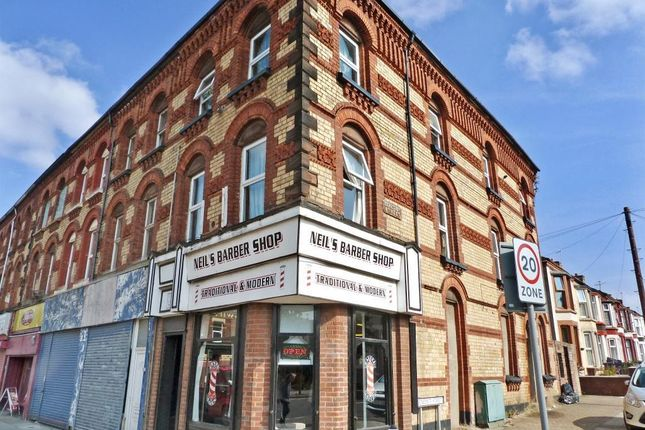 Thumbnail Flat for sale in Stanley Road, Bootle