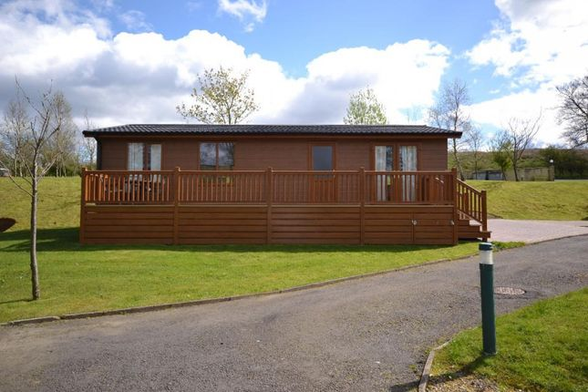 Thumbnail Mobile/park home for sale in Copshaw Lodge Plot 2, Riverview Holiday Park Mangerton Newcastleton