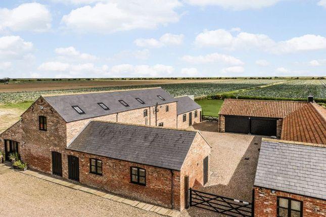 Thumbnail Barn conversion for sale in Scrane End, Freiston