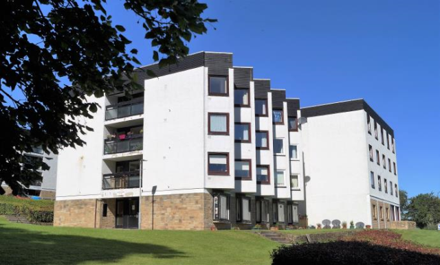 Thumbnail Flat to rent in Bothwell House, The Furlongs