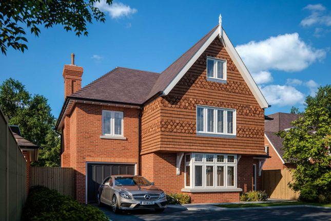 Thumbnail Detached house for sale in Burwood Park Road, Hersham, Walton-On-Thames