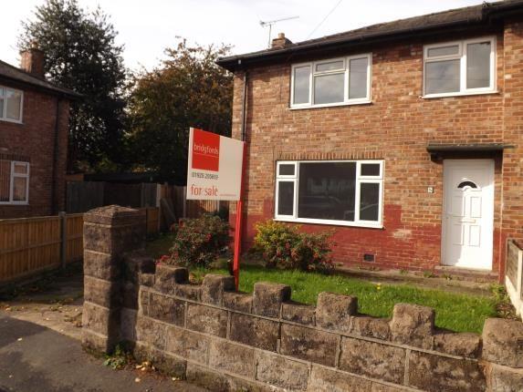 Thumbnail End terrace house for sale in Alder Crescent, Warrington, Cheshire