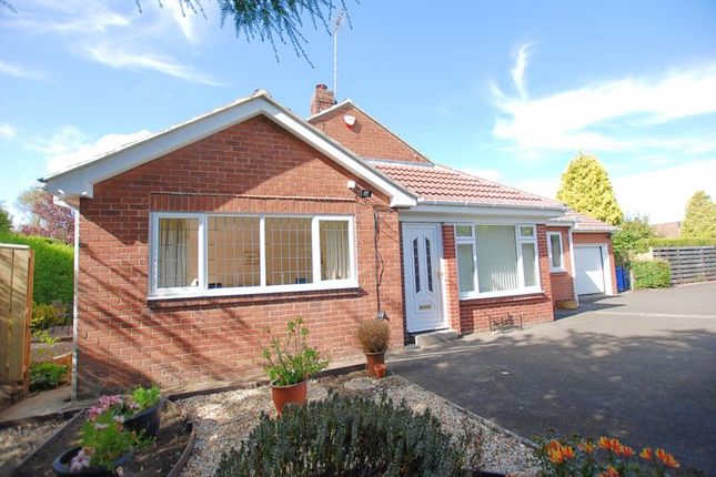 Thumbnail Bungalow for sale in The Rise, Ponteland, Newcastle Upon Tyne