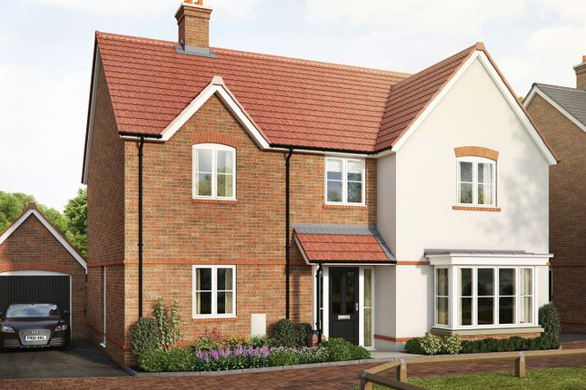 "Thumbnail Detached house for sale in ""The Kendal"" at Saunders Way, Basingstoke"
