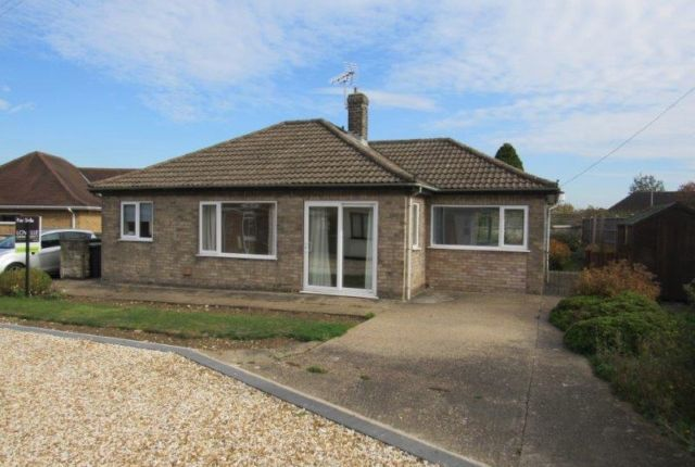 Thumbnail Bungalow to rent in Crossfield Road, Navenby, Lincoln