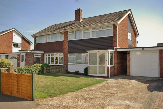 Thumbnail Semi-detached house to rent in Mendips Road, Fareham