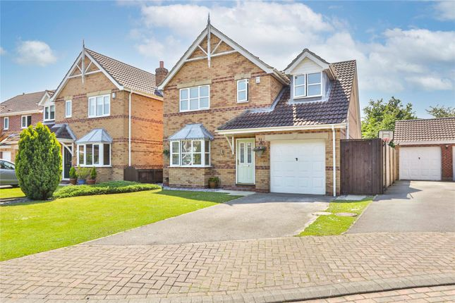 Thumbnail Detached house for sale in Spinnaker Close, Hedon, Hull