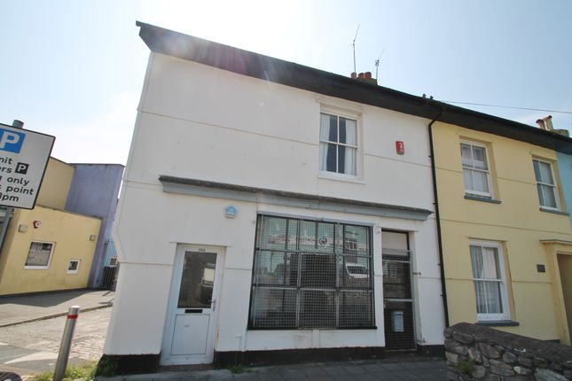 Thumbnail End terrace house for sale in Manor Street, Plymouth