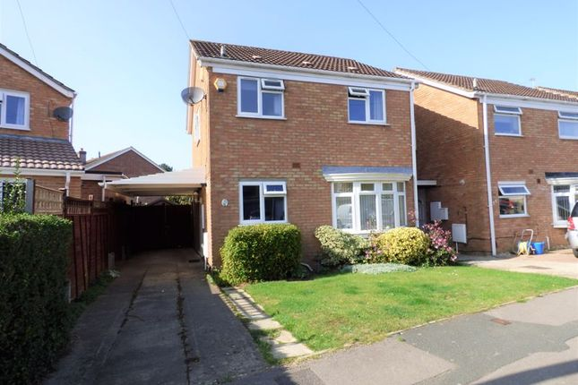 Thumbnail Detached house for sale in Hadow Way, Quedgeley, Gloucester