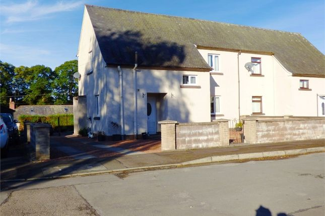Thumbnail Semi-detached house for sale in Blackmire Terrace, Thornhill, Dumfries And Galloway