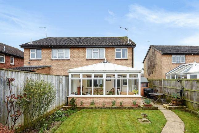 Thumbnail Semi-detached house for sale in Peachcroft Road, Abingdon