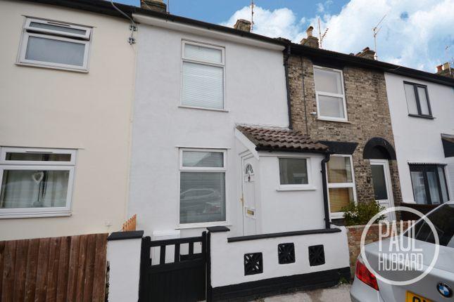 Thumbnail Terraced house to rent in Lovewell Road, Kirkley, Lowestoft