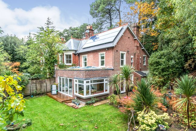 Thumbnail Semi-detached house for sale in Branksome Wood Road, Bournemouth