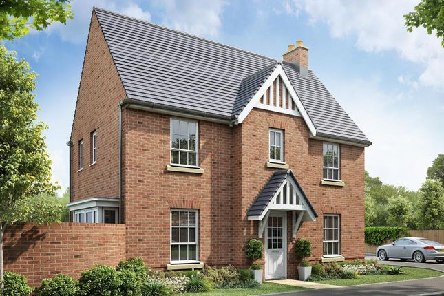 "Thumbnail Detached house for sale in ""Morpeth"" at Beggars Lane, Leicester Forest East, Leicester"