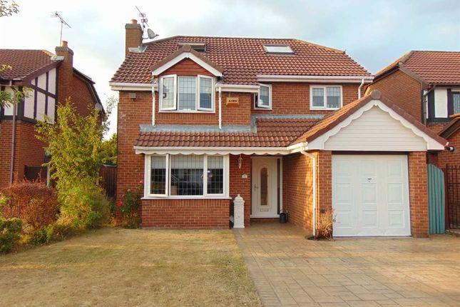 Thumbnail Detached house for sale in Parklands, Widnes