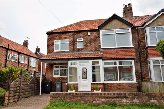 3 bed semi-detached house to rent in Melville Gardens, Whitley Bay NE25