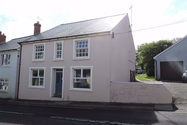 3 bed end terrace house for sale in High Street, Fishguard SA65