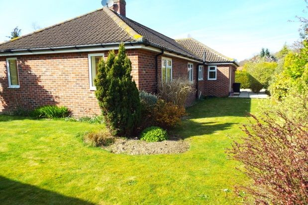 Thumbnail Detached bungalow to rent in Church Cottages, Cromer Road, West Runton, Cromer