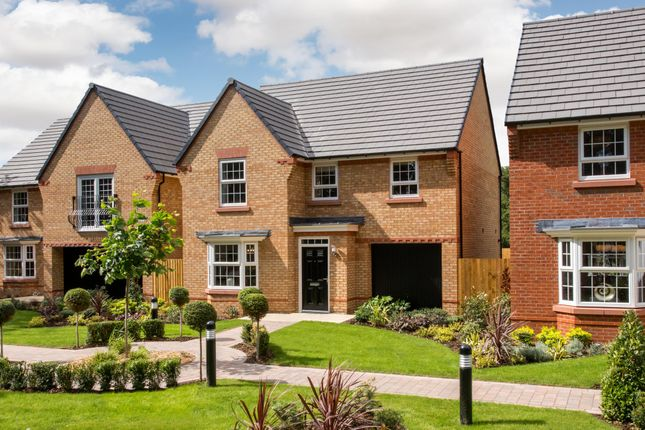 "Thumbnail Detached house for sale in ""Millford"" at Hassall Road, Alsager, Stoke-On-Trent"
