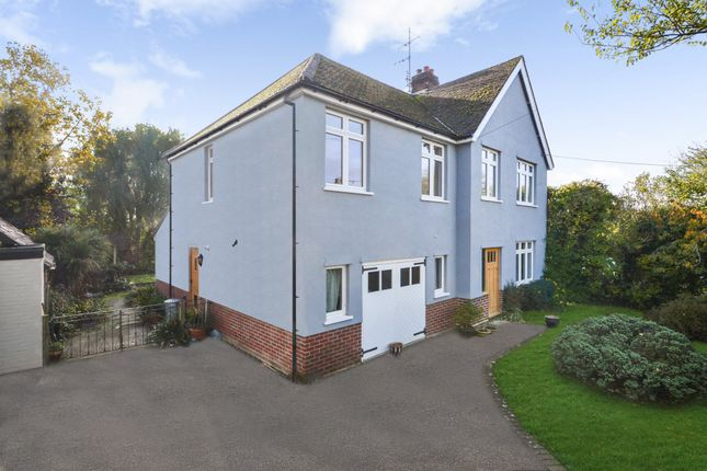 Detached house for sale in Castle Hedingham, Halstead, Essex