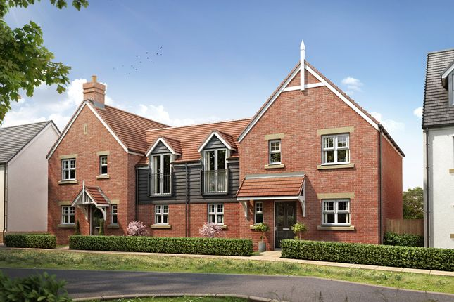 """Thumbnail Semi-detached house for sale in """"The Chester Link"""" at Ostrich Street, Stanway, Colchester"""