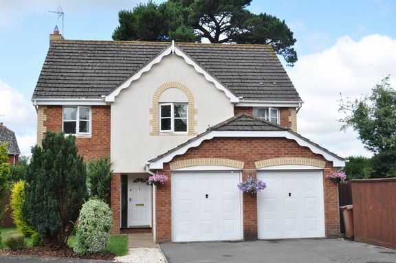 Thumbnail Detached house for sale in Harpitt Close, Willand, Cullompton