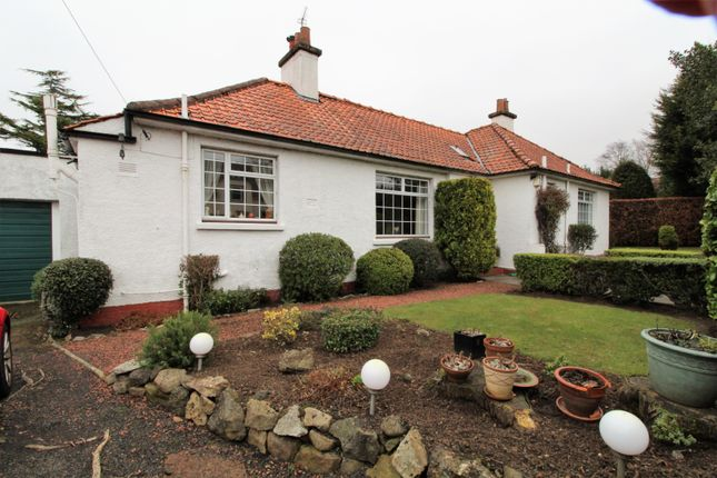 Thumbnail Detached bungalow for sale in Capelaw Road, Edinburgh