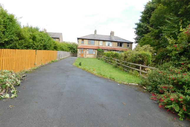 Thumbnail End terrace house for sale in Cleckheaton Road, Low Moor, Bradford