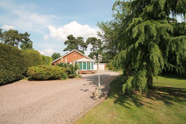 Thumbnail Detached bungalow for sale in Betton Road, Market Drayton