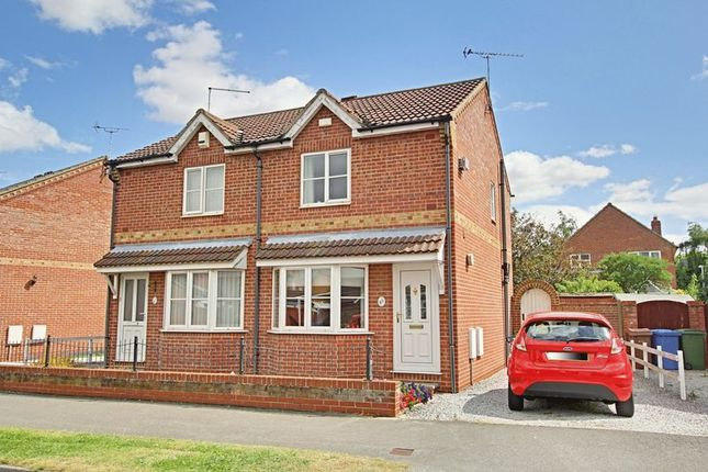 Thumbnail Semi-detached house for sale in Cleeve Road, Hedon, Hull